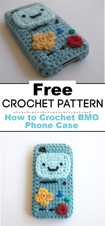 How to Crochet BMO Phone Case