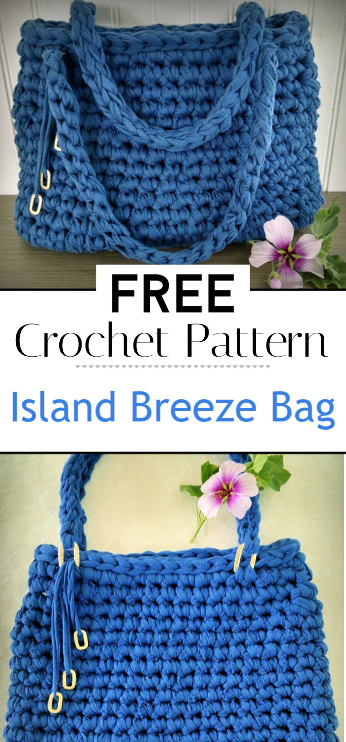 Island Breeze Bag A Free Crochet Pattern