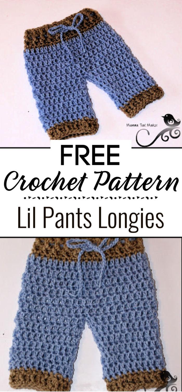 Lil Pants Free Pattern