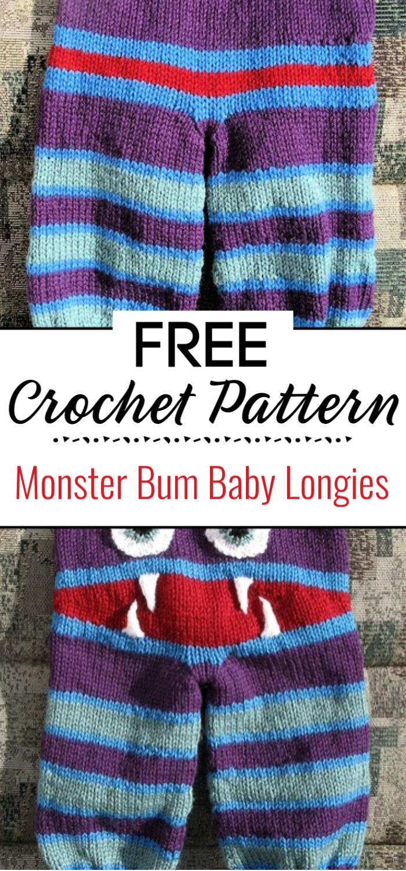 Monster Bum Baby Longies