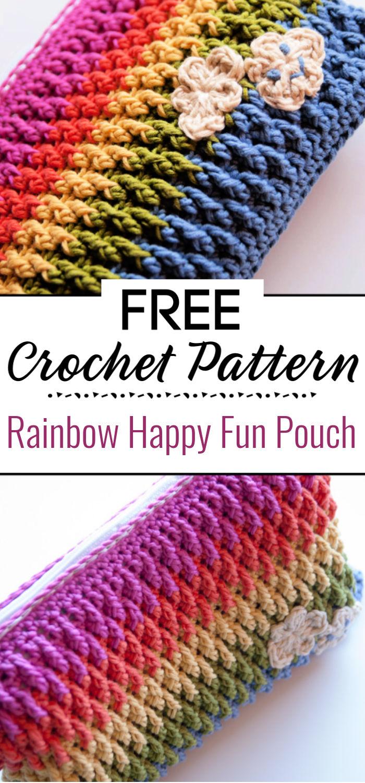 Rainbow Happy Fun Pouch