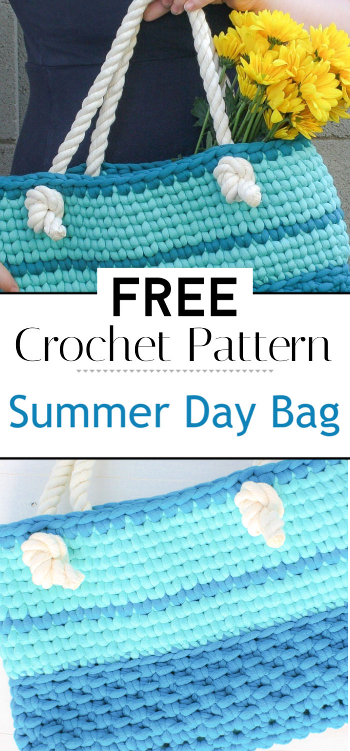 Summer Day Bag Free Crochet Pattern