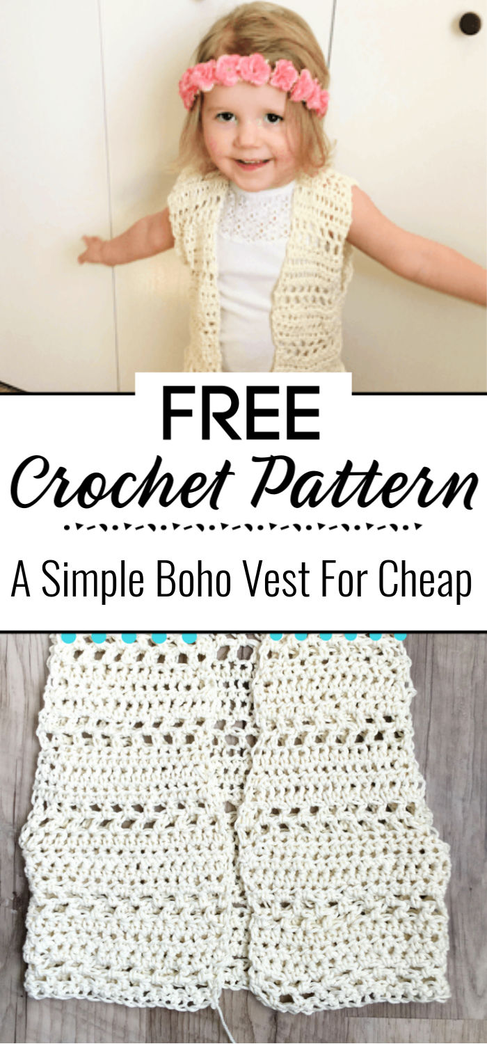 A Simple Boho Vest For Cheap