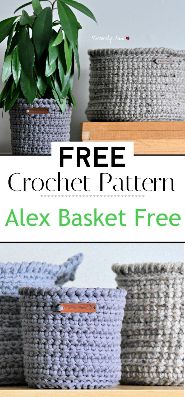Alex Basket Free Pattern