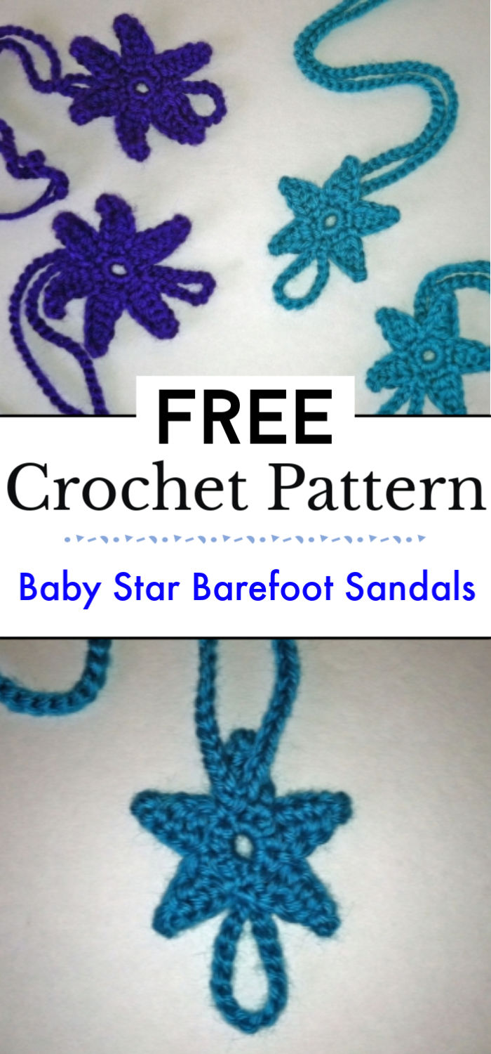 Baby Star Barefoot Sandals