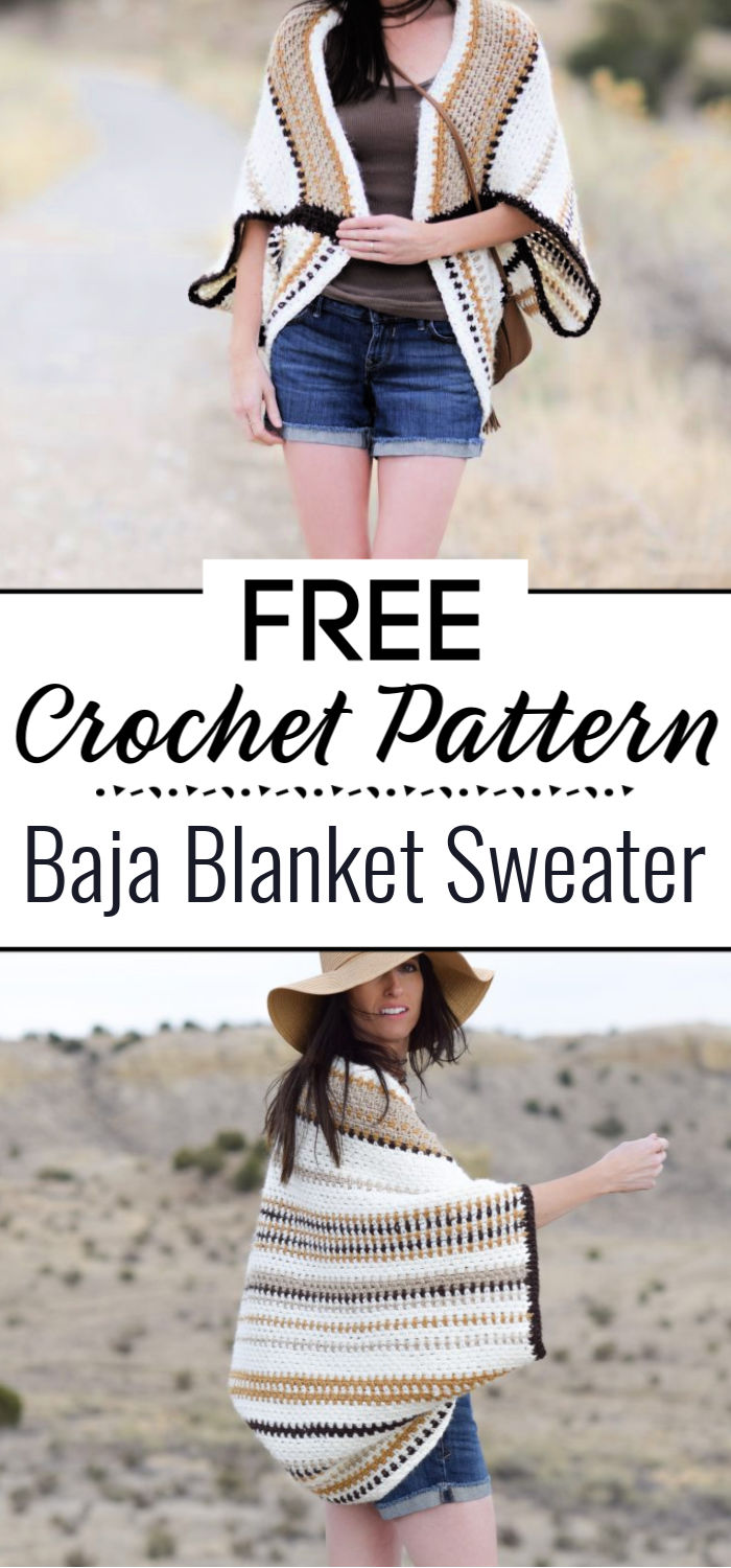 12 Free Crochet Sweater Patterns For Women Crochet With Patterns