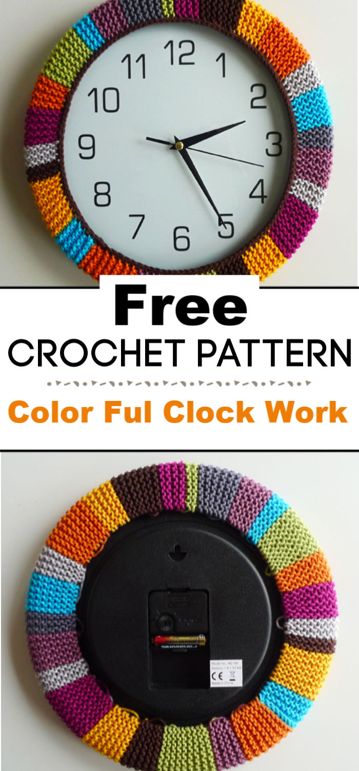 Color Ful Clock Work