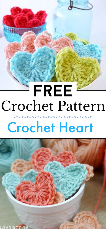 Crochet Heart Video Free Crochet Pattern