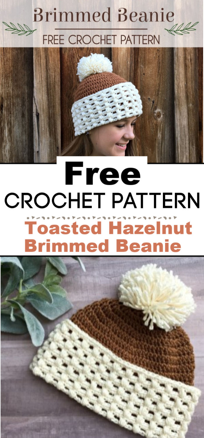 Double Brim Ribbed Crochet Beanie 1