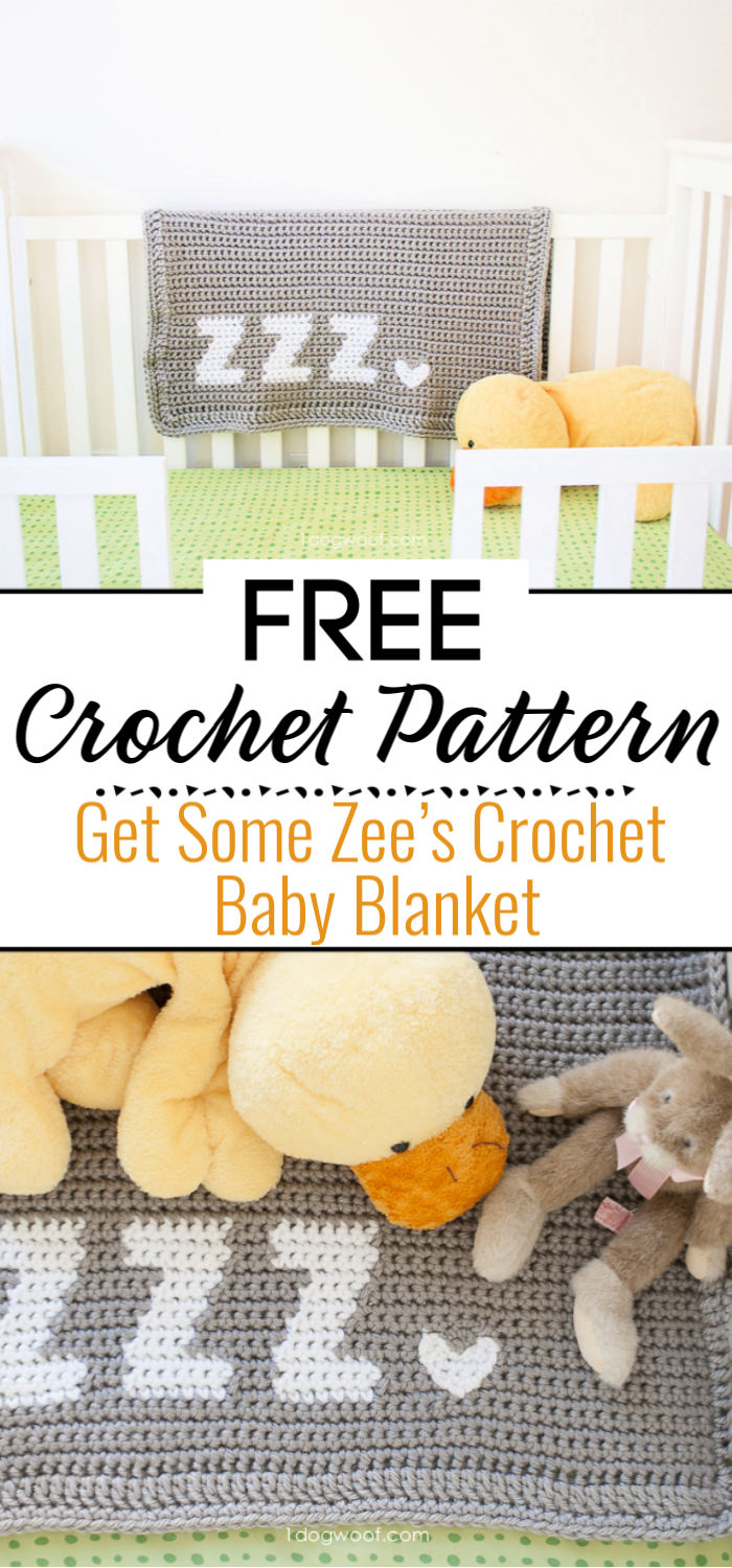 Get Some Zee's Crochet Baby Blanket