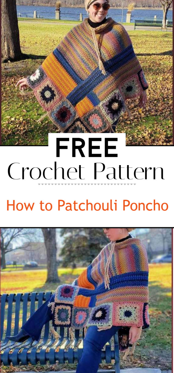 How to Crochet Tutorial Patchouli Poncho