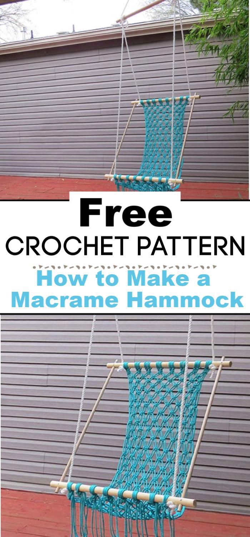 How to Make a Macrame Hammock