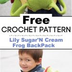 Lily SugarN Cream Frog BackPack