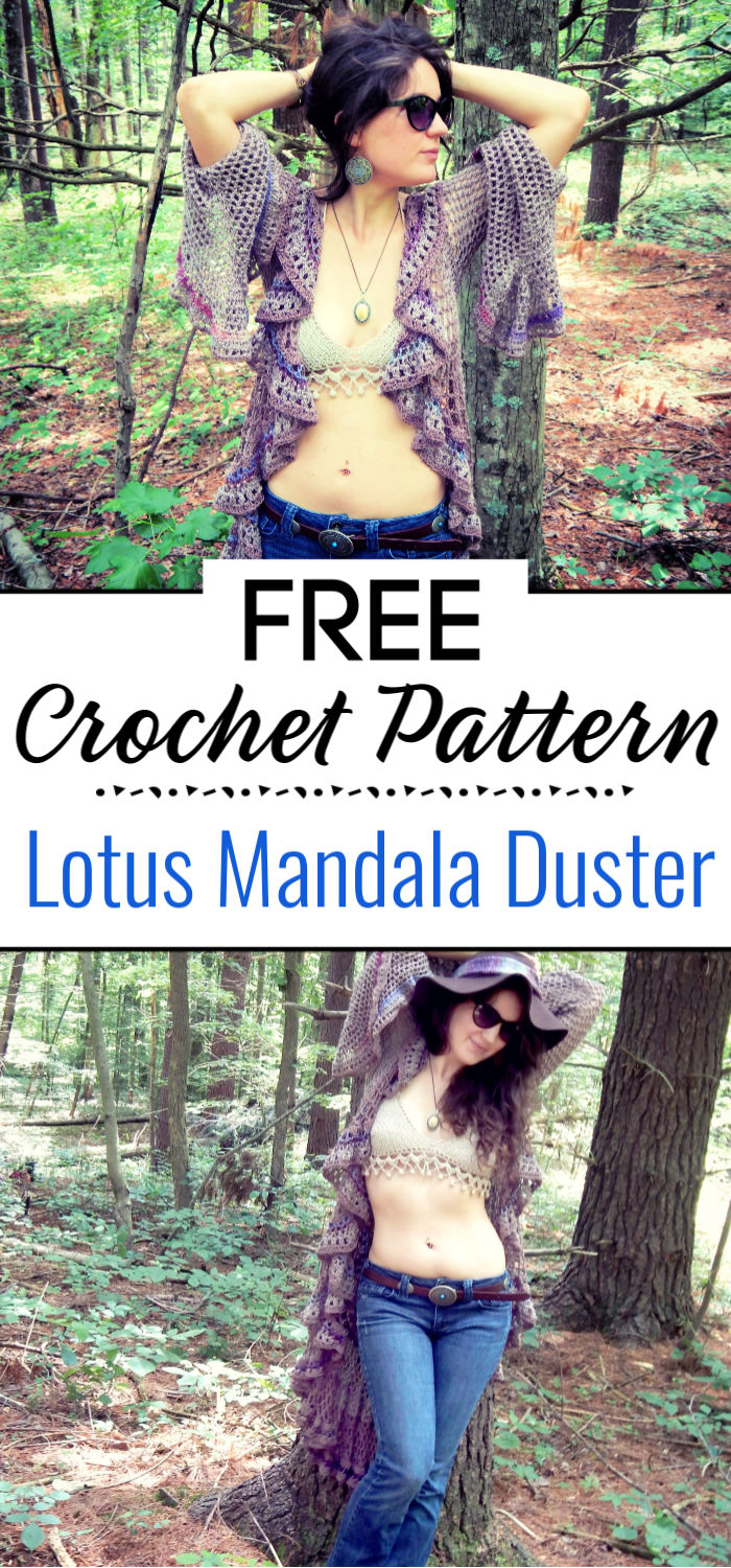 Lotus Mandala Duster