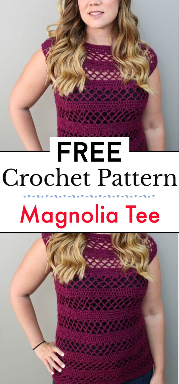 Magnolia Tee Crochet Pattern