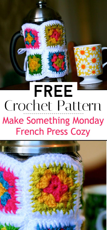 Make Something Monday French Press Cozy