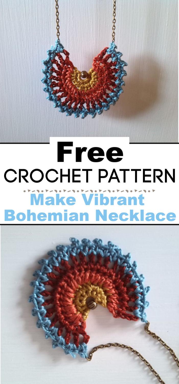 Make Vibrant Bohemian Necklace