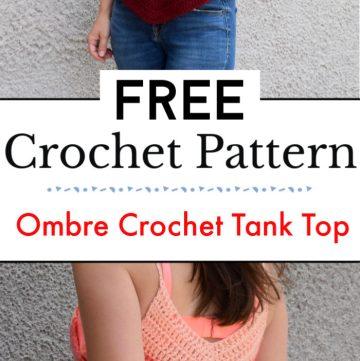 Ombre Crochet Tank Top