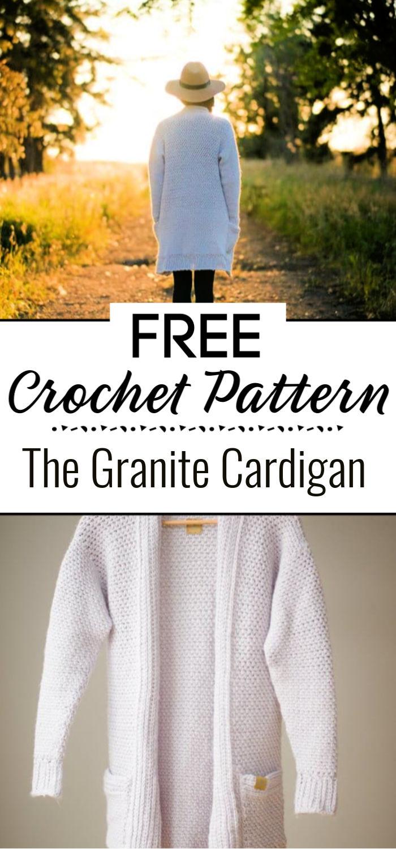 Pattern The Granite Cardigan