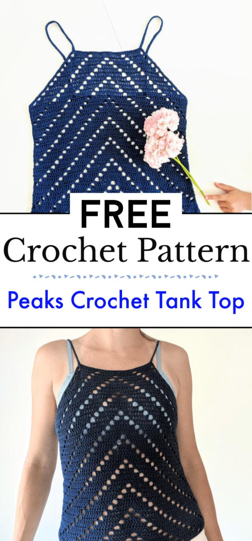 Peaks Crochet Tank Top