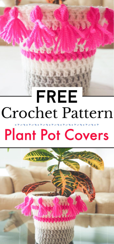 Plant Pot Covers Crochet Pattern