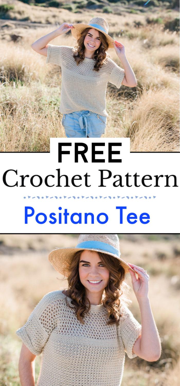 Positano Tee Crochet Pattern