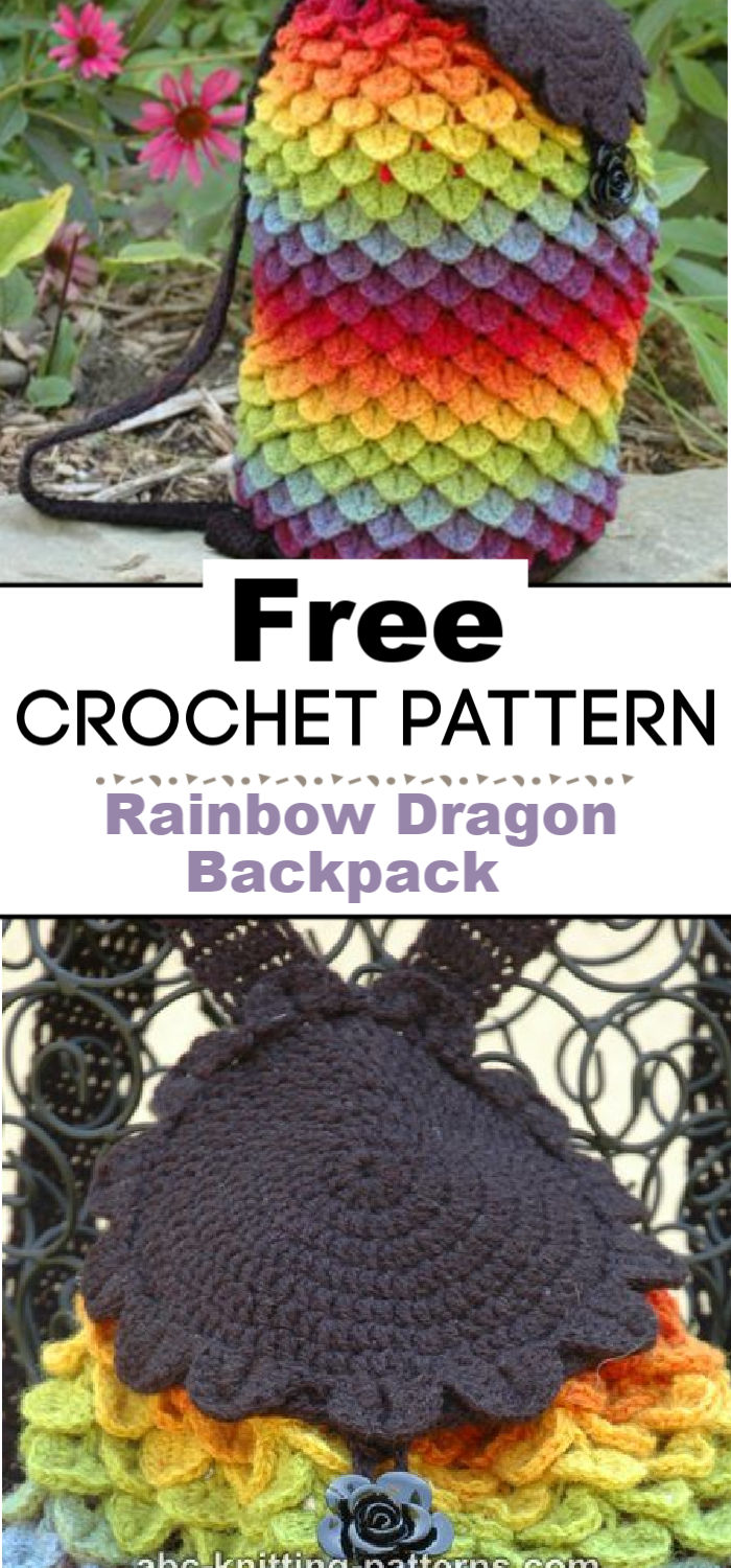 Rainbow Dragon Backpack