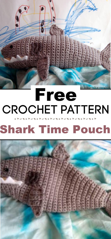 Shark Time Pouch