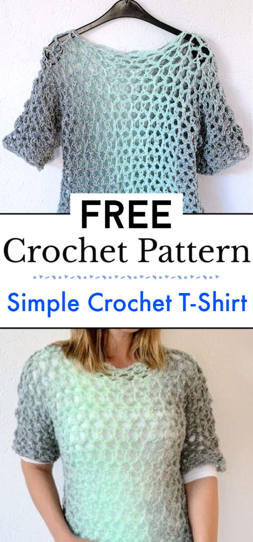 Simple Crochet T Shirt