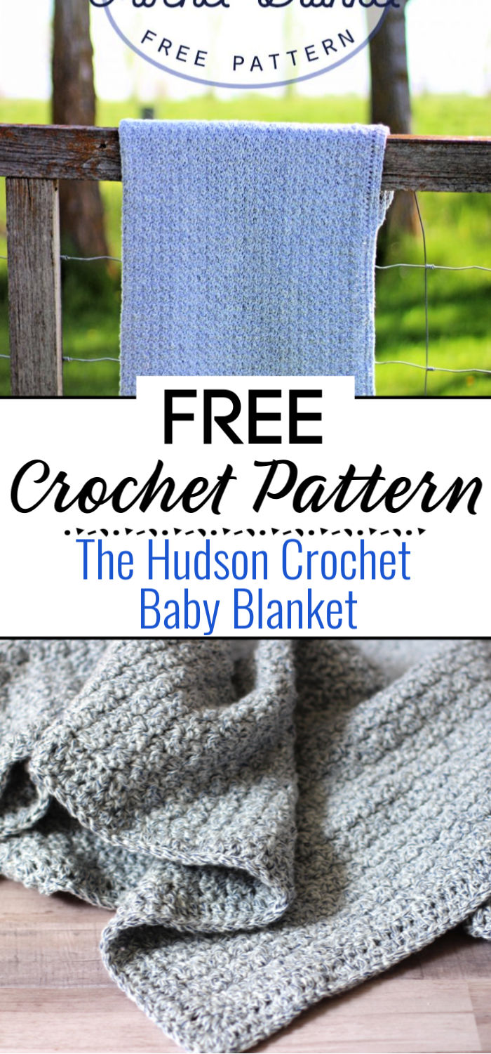 The Hudson Crochet Baby Blanket Pattern