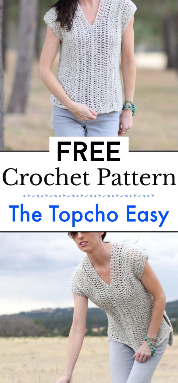 The Topcho Easy Crochet Shirt Pattern