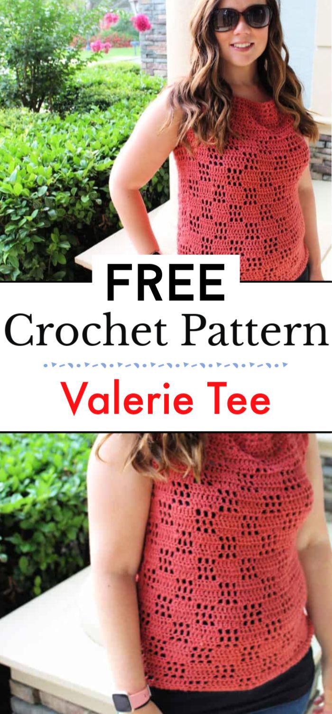Valerie Tee Free Crochet Pattern
