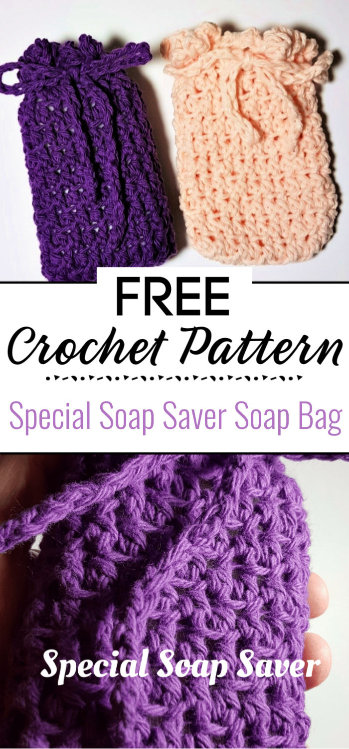 1.Special Soap Saver Pattern Soap Bag With Video Tutorial 1