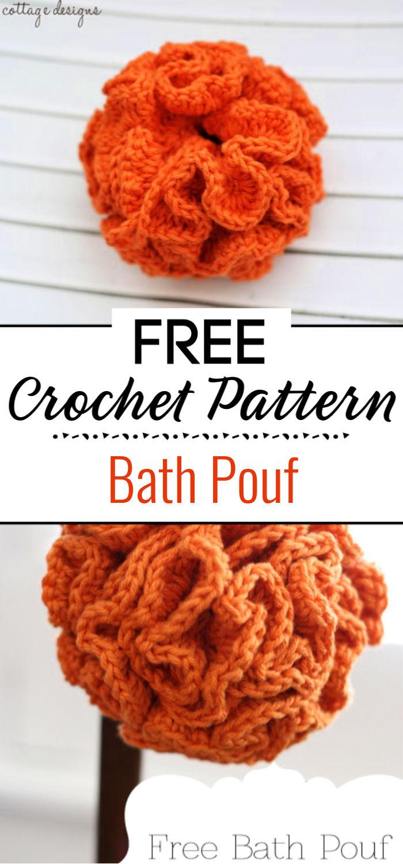 7.Bath Pouf Crochet Pattern 1
