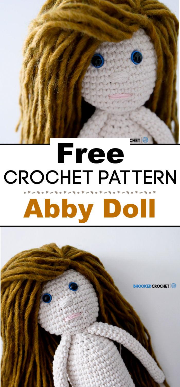 Abby Crochet Doll