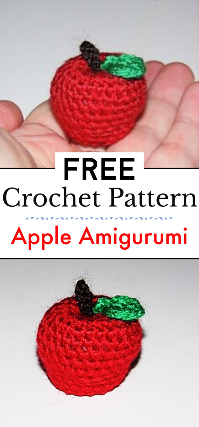 Apple Amigurumi Pattern