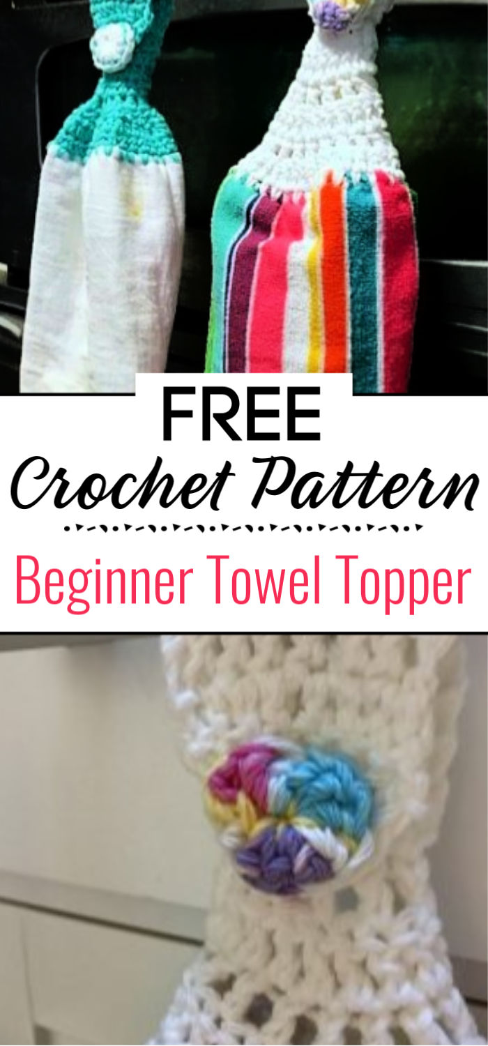 Beginner Crochet Towel Topper Tutorial