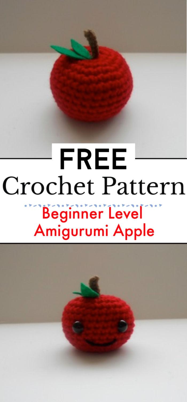Beginner Level Amigurumi Apple