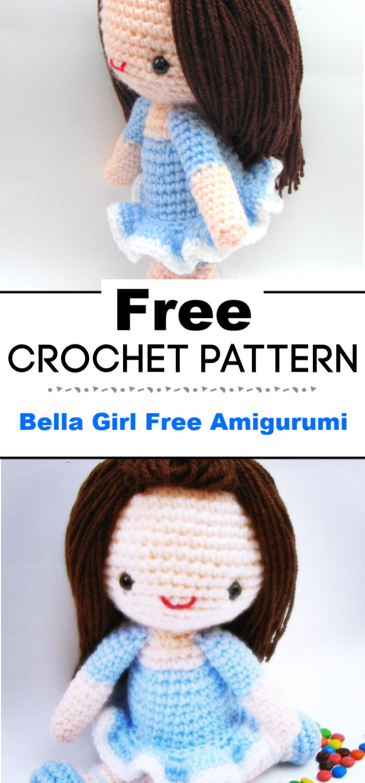 Bella Girl Free Amigurumi Pattern