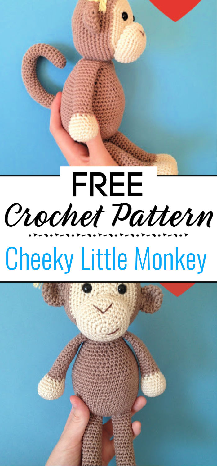 Cheeky Little Monkey Free Pattern