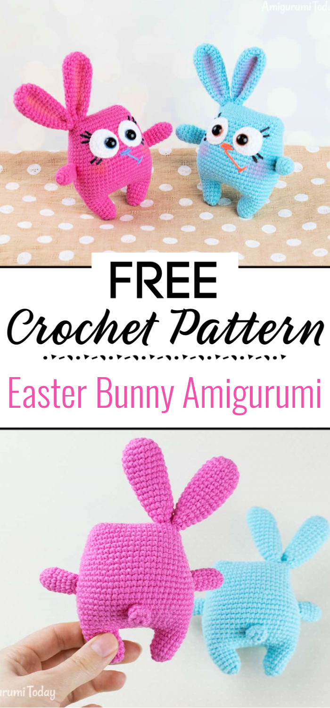 Crochet Easter Bunny Amigurumi Pattern