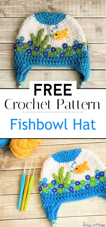 Crochet Hat Pattern Fishbowl Hat Pattern