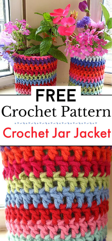 Crochet Jar Jacket