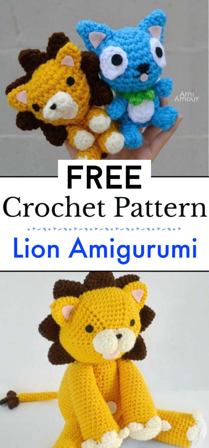 Crochet Lion Amigurumi Pattern