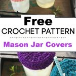 Crochet Mason Jar Covers