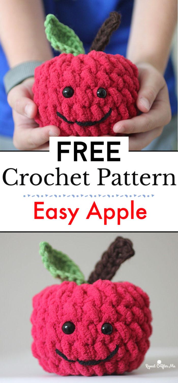 Easy Crochet Apple