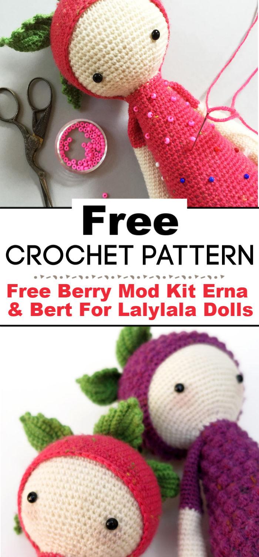 Free Berry Mod Kit Erna Bert For Lalylala Dolls