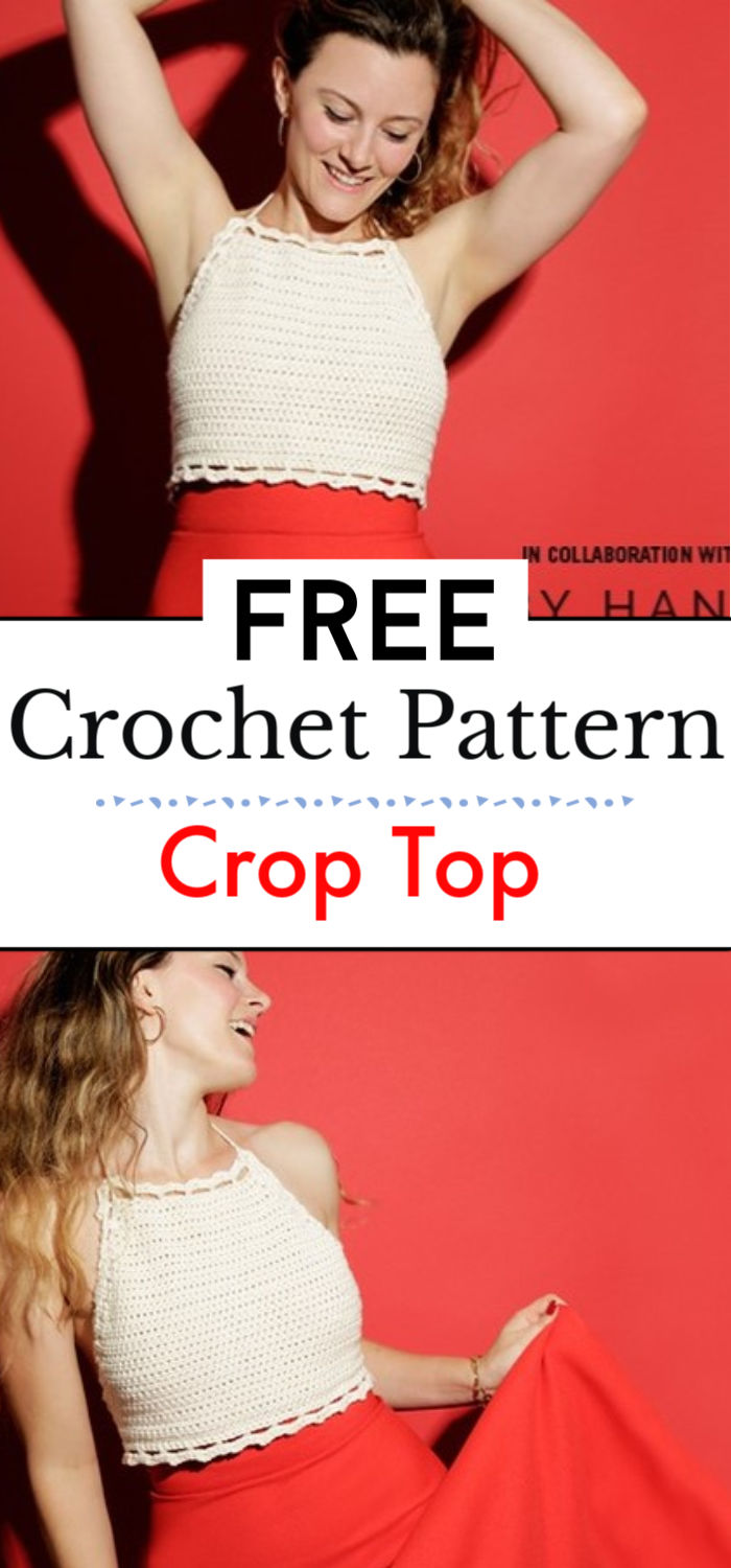 Free Pattern Crop Top