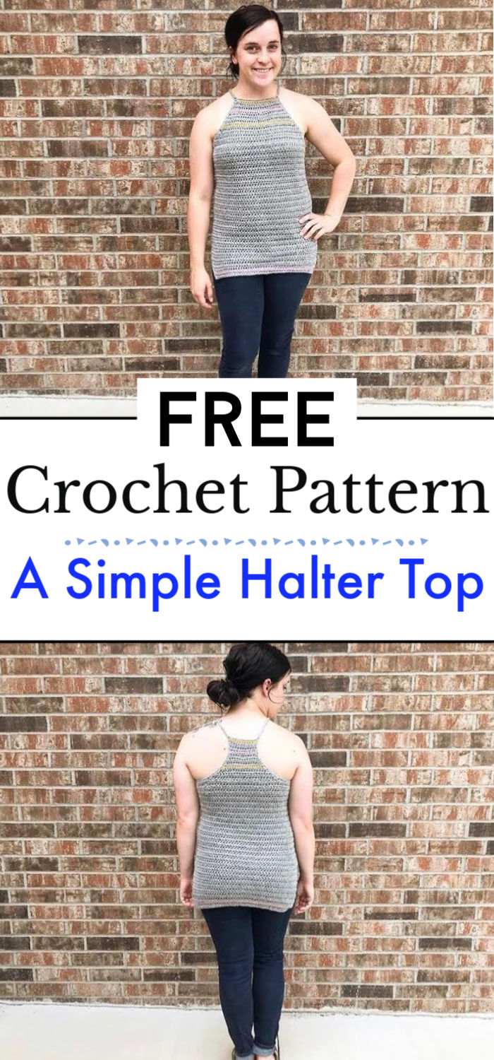How To Crochet A Simple Halter Top
