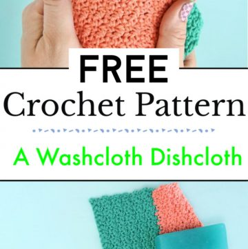 How To Crochet A Washcloth Free Crochet Dishcloth Patterns
